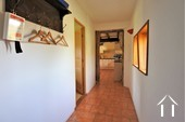 Renovated Bressane farmhouse, garage and large garden, Ref # JP4938B image 9 Corridor from kitchen to bedroom and shower room