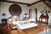 Large and comfortable country house with lovely views. Ref # BH1957V image 8 master bedroom with bathroom and dressing