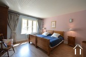 Manor house with two gites and pool Ref # BH4953V image 25 bedroom 1 with ensuite shower