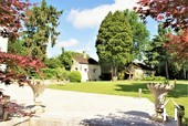 Classic manor house on the river Saone Ref # JP5071B image 5 lovely back garden