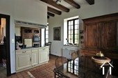 Classic manor house on the river Saone Ref # JP5071B image 4 kitchen diner