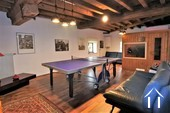 Classic manor house on the river Saone Ref # JP5071B image 14 games room first floor