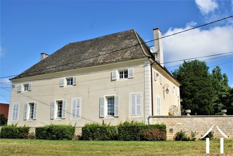 Classic manor house on the river Saone Ref # JP5071B