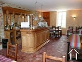 B&B with house & land next to the Château de Sully Ref # CR4965BS image 2 Dining area