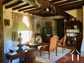 Character house with 5 bedrooms, great views of Morvan Ref # MB1451M image 3 living room