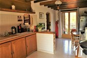 Lovely renovated farmhouse with holiday home on an acre Ref # AH4876B image 9 spacious kitchen in the main house