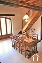 separate dining room with mezzanine