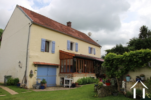 Renovated charming character house in the Puisaye  Ref # LB4998N