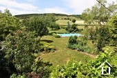 Renovated country house with barn, pool and great views Ref # JP4848S image 5 view west from the first floor window