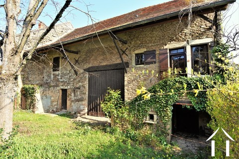 1 bedroom stone house with large barn and courtyard Ref # JP4852S Main picture