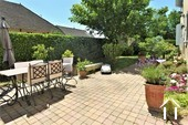 Character property with 6 en-suite bedrooms and large barns  Ref # JP4999S image 5 south facing courtyard partly shaded