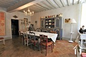 Character property with 6 en-suite bedrooms and large barns  Ref # JP4999S image 14 dining room leading to the kitchen 1