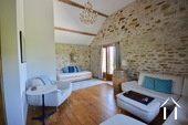 Lovely stone house with 3 bedrooms Ref # BH5014V image 7 chambre de maitre premier etage