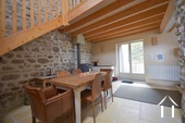 Ready to use 2 bedroom house, with small garden Ref # BH5025BS image 8 dining room with access to terrace