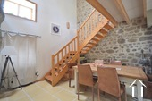 Ready to use 2 bedroom house, with small garden Ref # BH5025BS image 10 stairs to the salon on the raised level