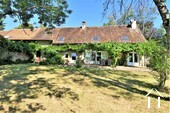 Renovated farmhouse with guest area and great views  Ref # JP5026S image 5 south side of the farmhouse from the garden