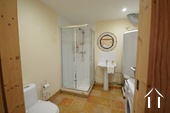 Cosy farm with 4 ha of land, south of Autun Ref # BH5045V image 11 downstairs shower room with toilet