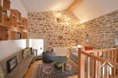 Cosy farm with 4 ha of land, south of Autun Ref # BH5045V image 14 sitting area upstairs