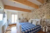 Cosy farm with 4 ha of land, south of Autun Ref # BH5045V image 17 guest bedroom