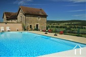 Grand character house, 2 gites, pool and views near Cluny Ref # JP5060S image 5