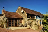 Grand character house, 2 gites, pool and views near Cluny Ref # JP5060S image 19 Guest cottage