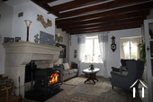 Renovated cottage near Premery, ready to move into! Ref # LB5070N image 3 salon