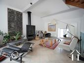 Charming 19th Century House + Barn Conversion with Views. Ref # RT5076P image 2  living area