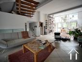 Charming 19th Century House + Barn Conversion with Views. Ref # RT5076P image 5 Living area