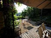 Charming 19th Century House + Barn Conversion with Views. Ref # RT5076P image 24 Main terrace