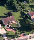 house as seen from the air