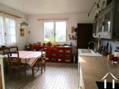 Spacious 4 bedroom hous with 1 hectare of land Ref # MC4966H image 5 kitchen large enough for a table