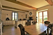 Grand character house, 2 gites, pool and views near Cluny Ref # JP5060S image 2