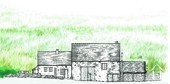Charming 19th Century House + Barn Conversion with Views. Ref # RT5076P image 10 Facade drawing