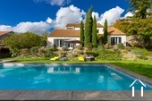 Bright modern house with pool and view Ref # CR5036BS image 1 Pool and house