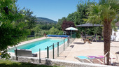 Large Family house with pool and extra units Ref # BH5084M image 2 heated pool, fenced for safety, south facing