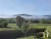 Large Family house with pool and extra units Ref # BH5084M image 5 great views from garden, in view of Autun Cathedral