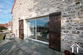 Character house with views on the Morvan hills Ref # CR5086BS image 12 Terrace and living