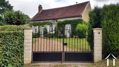 Dream cottage in Puisaye area for sale Ref # LB5087N