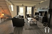 Village house with 3 bedrooms, garden and views  Ref # JP5101S image 2 cosy central salon with fireplace