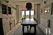 Village house with 3 bedrooms, garden and views  Ref # JP5101S image 12 dining area with access to the garden