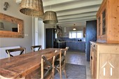 Village house with 3 bedrooms, garden and views  Ref # JP5101S image 3 equipped kitchen and dining room