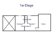 Village house with 3 bedrooms, garden and views  Ref # JP5101S image 18 plan first floor
