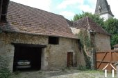 Former Village Auberge, Courtyard  and Barn  to restore. Ref # GVS4849C image 7