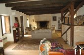Former Village Auberge, Courtyard  and Barn  to restore. Ref # GVS4849C image 10