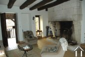 Former Village Auberge, Courtyard  and Barn  to restore. Ref # GVS4849C image 9