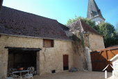 Former Village Auberge, Courtyard  and Barn  to restore. Ref # GVS4849C image 13