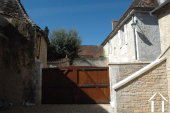 Former Village Auberge, Courtyard  and Barn  to restore. Ref # GVS4849C image 6