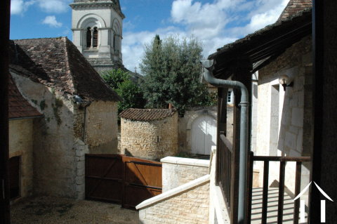 Former Village Auberge, Courtyard  and Barn  to restore. Ref # GVS4849C
