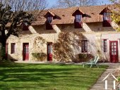 stables building with guest houses