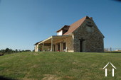 Energy efficient stone house with view on 4.5 ha.  Ref # GVS4840C image 1